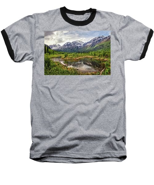 Beaver Pond, Eagle River Ak Baseball T-Shirt