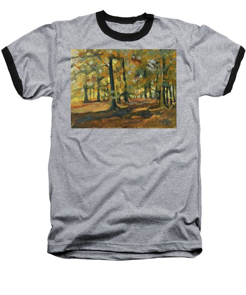 Beeches In Autumn Baseball T-Shirt