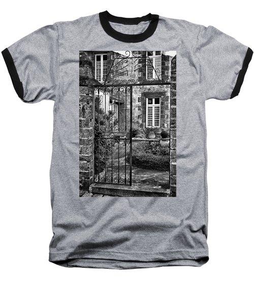 Behind The Walls Baseball T-Shirt