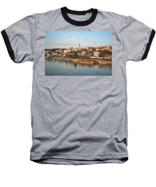 Belgrade Cityscape Baseball T-Shirt