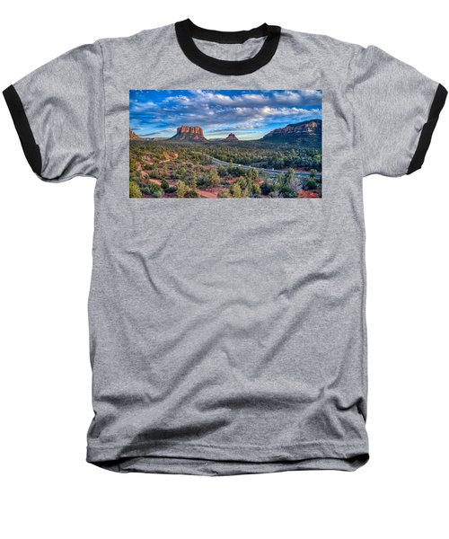 Bell Rock Scenic View Sedona Baseball T-Shirt