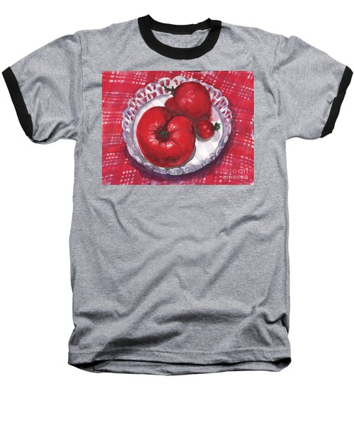 Bella Tomatoes Baseball T-Shirt