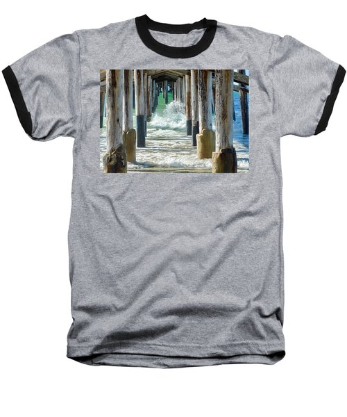 Below The Pier Baseball T-Shirt