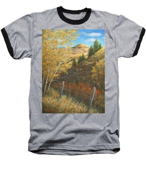 Belt Butte Autumn Baseball T-Shirt