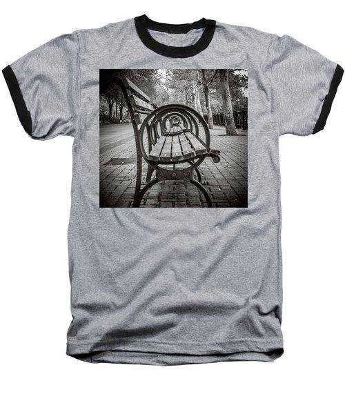 Bench Circles Baseball T-Shirt