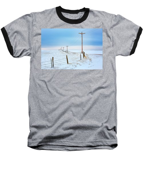 Bend In The Road Baseball T-Shirt