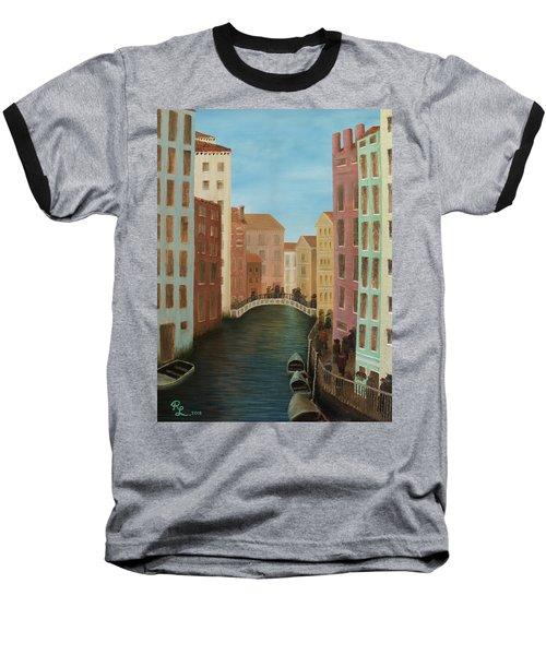 Beyond The Grand Canal Baseball T-Shirt