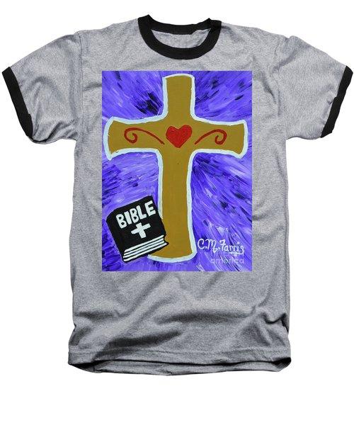 Bible Study Baseball T-Shirt