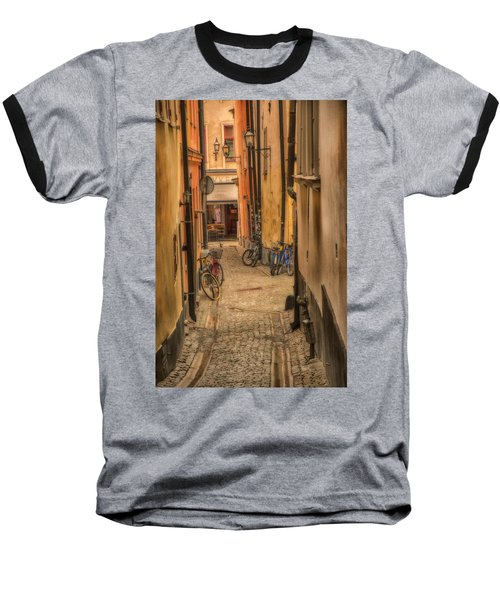 Bicycle Alley Baseball T-Shirt