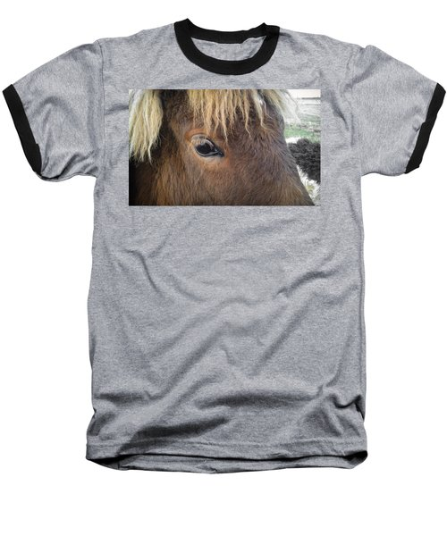Big Eyes Baseball T-Shirt
