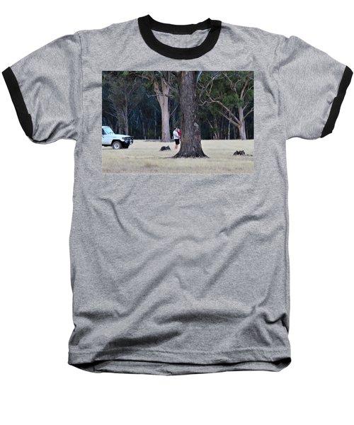 Big Gums On The Farm Baseball T-Shirt