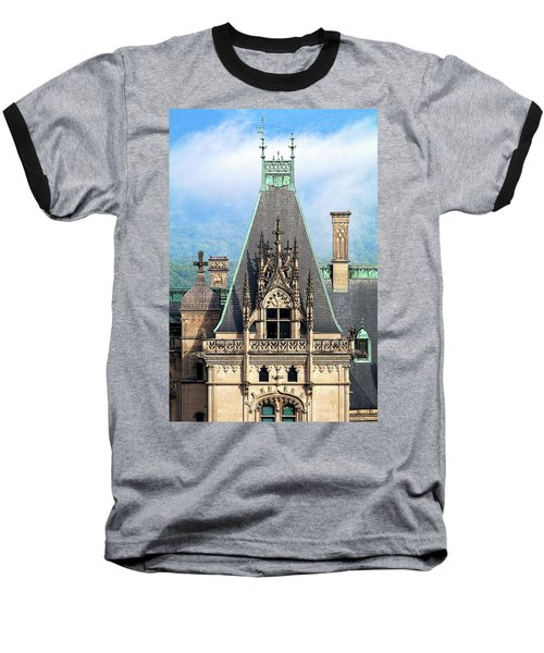 Biltmore Architectural Detail  Baseball T-Shirt