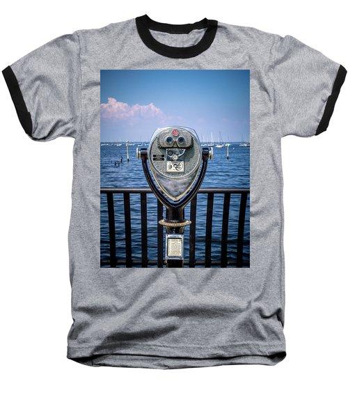 Binocular Viewer Baseball T-Shirt