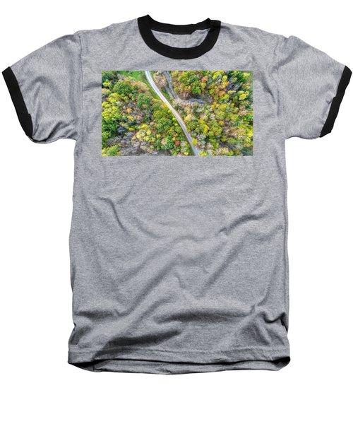 Bird Eye View Baseball T-Shirt