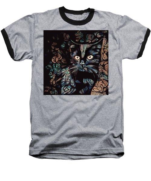 Black Cat Baseball T-Shirt