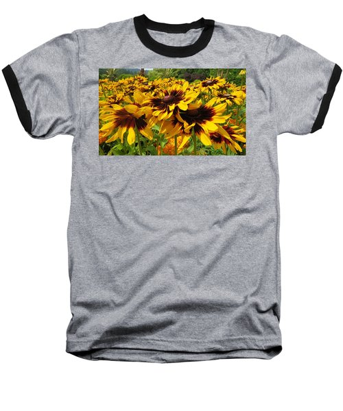Black-eyed Susan In Your Face Baseball T-Shirt