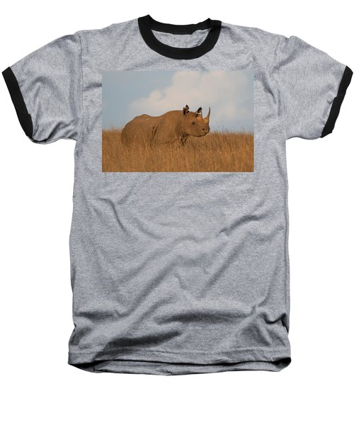 Black Rhino Baseball T-Shirt