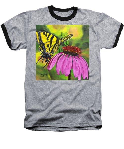 Black-sampson Echinacea Baseball T-Shirt