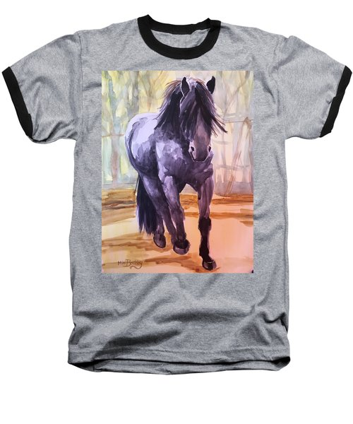 Black Stallion Baseball T-Shirt