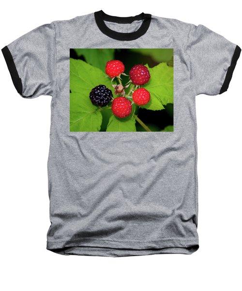 Blackberries Baseball T-Shirt