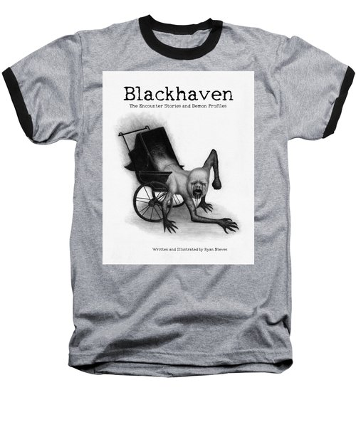 Blackhaven The Encounter Stories And Demon Profiles Bookcover, Shirts, And Other Products Baseball T-Shirt