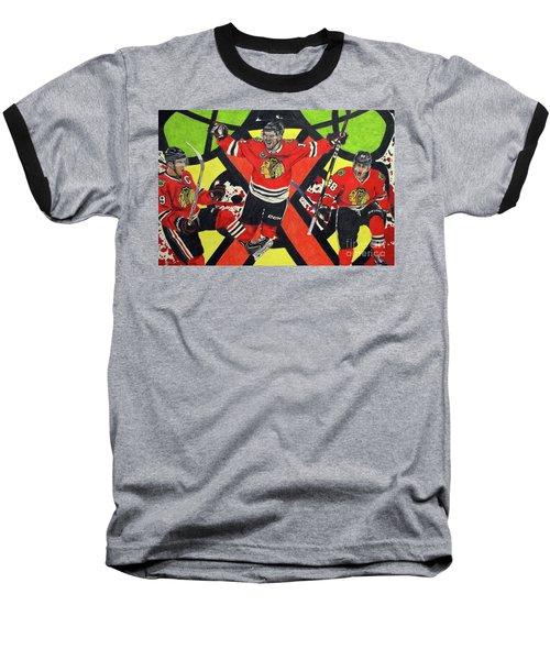 Blackhawks Authentic Fan Limited Edition Piece Baseball T-Shirt