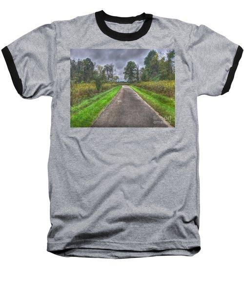Blacklick Woods Pathway Baseball T-Shirt