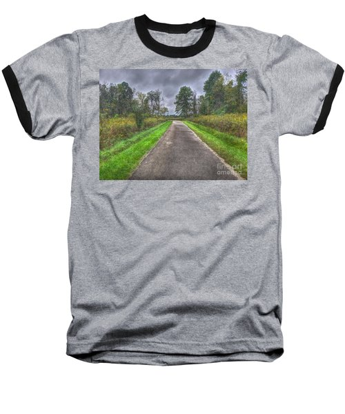 Blacklick Woods Pathway Baseball T-Shirt