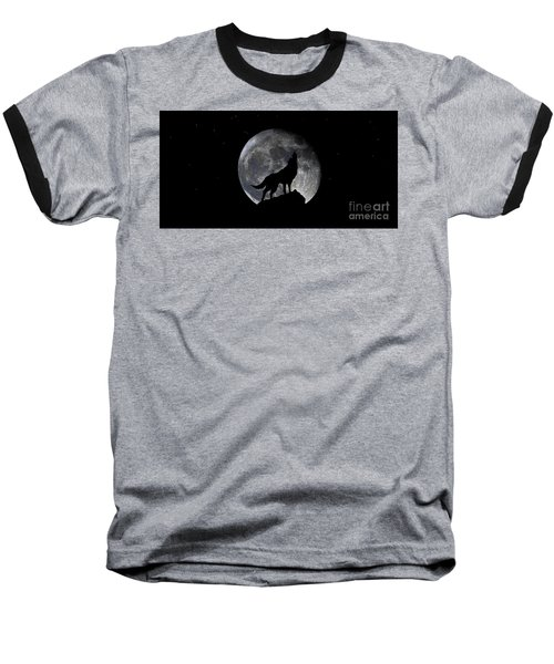 Pre Blood Red Wolf Supermoon Eclipse 873r Baseball T-Shirt
