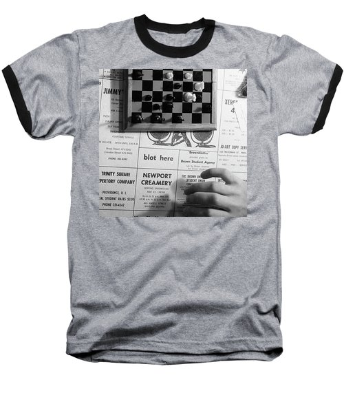 Blot Here, Aka Black's Move, 1972 Baseball T-Shirt