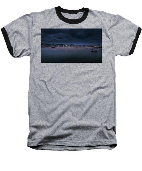 Blue Hour - St Ives Cornwall Baseball T-Shirt
