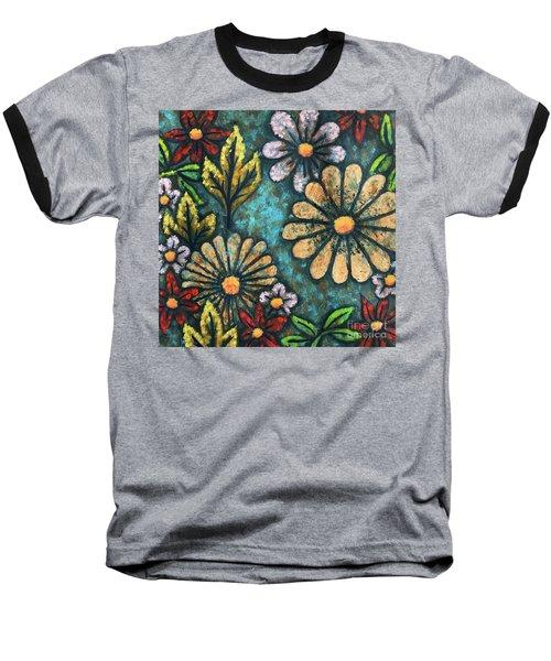 Blue Mood 1 Baseball T-Shirt