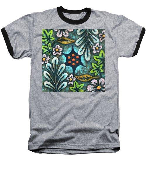 Blue Mood 2 Baseball T-Shirt