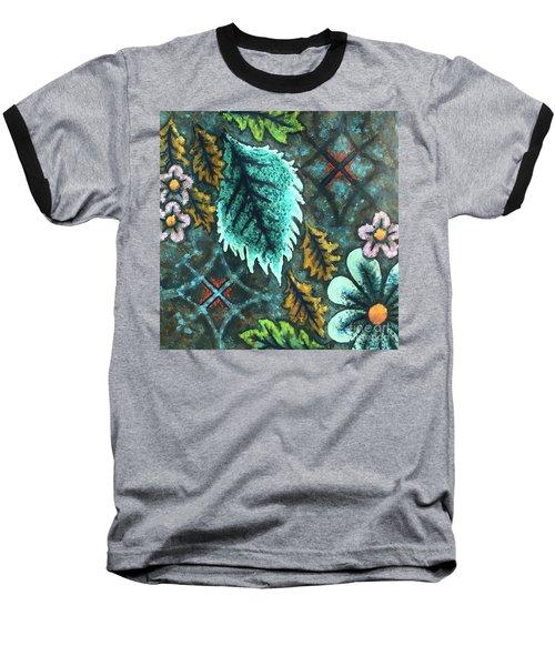Blue Mood 3 Baseball T-Shirt