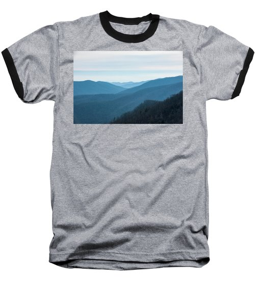 Blue Ridge Mountains Baseball T-Shirt