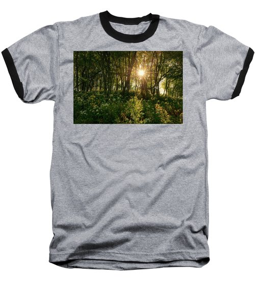 Blue Ridge Parkway - Last Of Summers Light, North Carolina Baseball T-Shirt