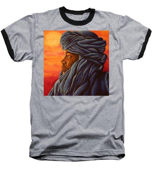 Blue Tuareg Baseball T-Shirt