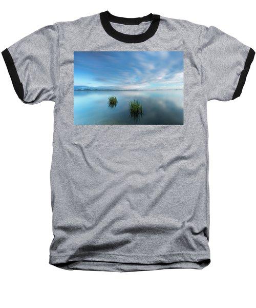 Blue Whirlpool Baseball T-Shirt