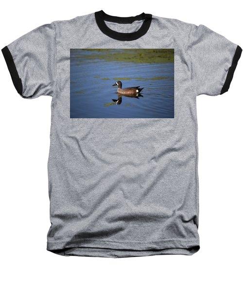 Blue Winged Teal Baseball T-Shirt