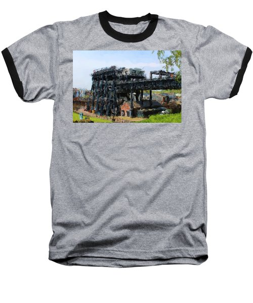 Boat Lift Baseball T-Shirt