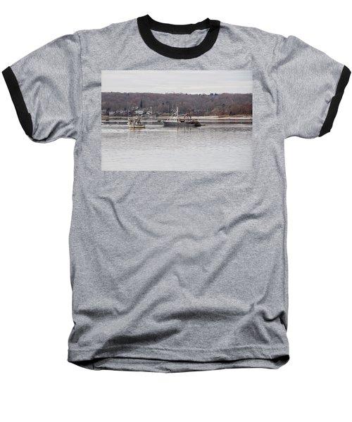 Boats At Northport Harbor Baseball T-Shirt