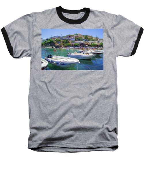 Boats In Bali Baseball T-Shirt