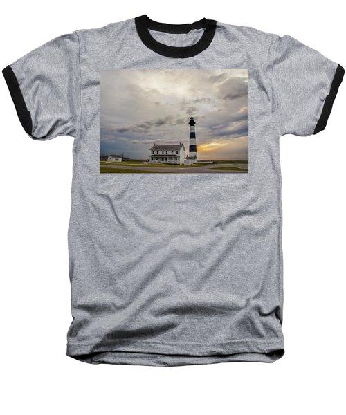 Bodie Island Lighthouse No. 2 Baseball T-Shirt
