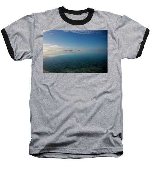 Bonefish Flats, Great Exuma Baseball T-Shirt