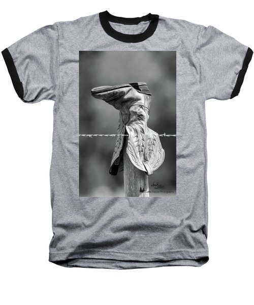 Boot Post Baseball T-Shirt