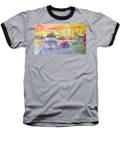 Boothbay 2  Baseball T-Shirt