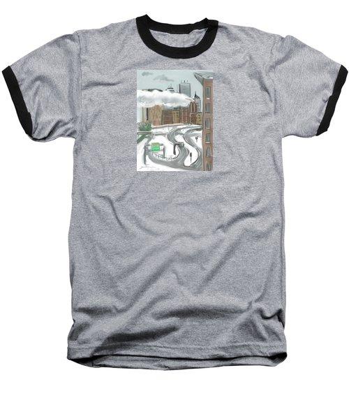 Boston After The Blizzard Baseball T-Shirt