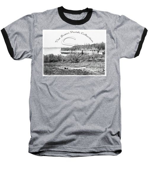 Boston Harbor, View To The Nw Baseball T-Shirt