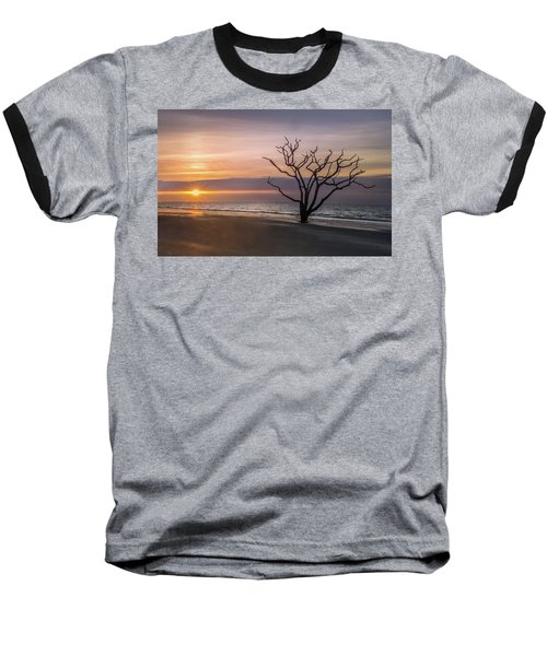Baseball T-Shirt featuring the photograph Botany Bay Sunrise by James Woody