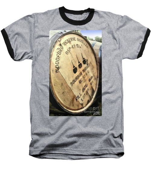 Bourbon Barrel Baseball T-Shirt